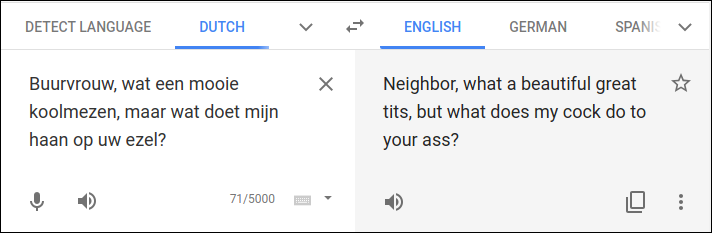 Google Translate gets it right.